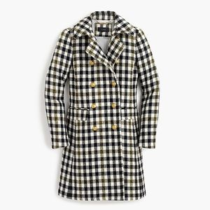 J CREW DOUBLE-BREASTED COAT